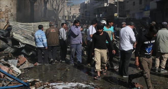 Suriye'de  patlamalar meydana geldi