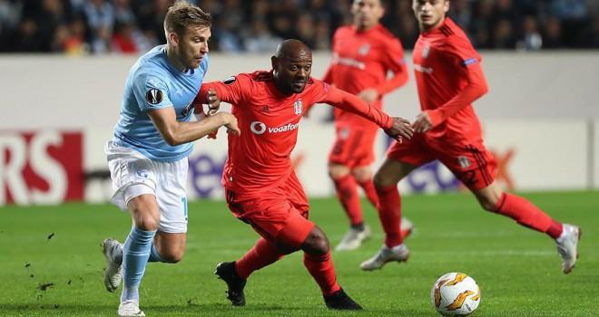 Beşiktaş'tan Avrupa Ligi'nde ilk mağlubiyet