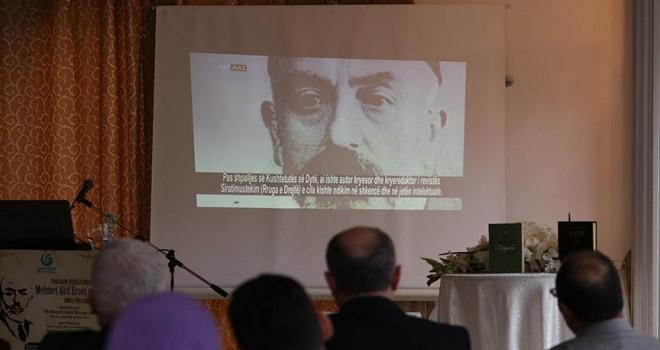 Mehmet Akif Ersoy ölüm yıl dönümünde Kosova'da yad edildi