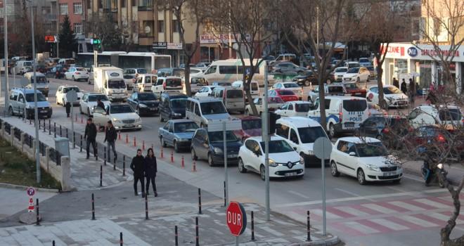 Konya'da taşıtsayısı arttı