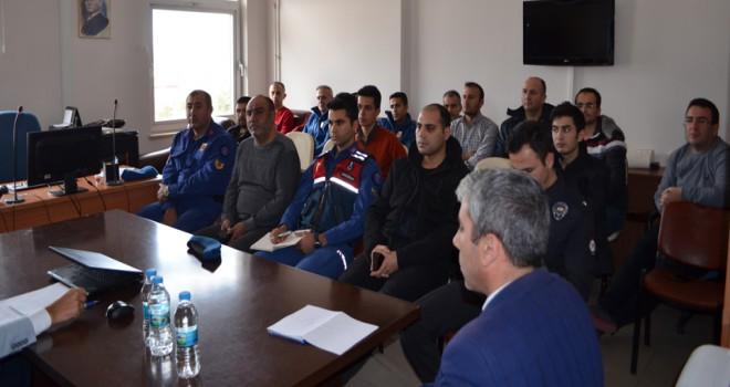Ilgın'da adli kolluk koordinasyon toplantısı