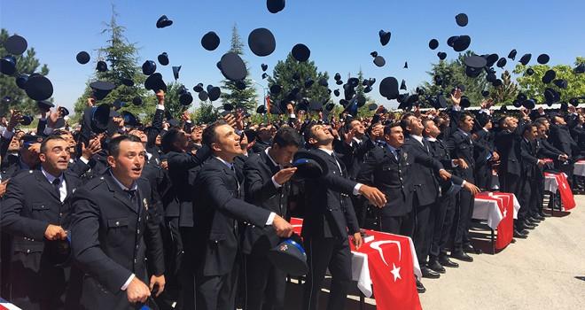 Ereğli Pomem'de  mezuniyet sevinci