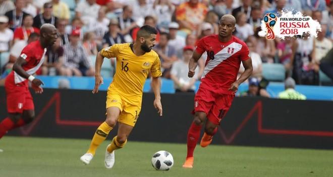 Peru ile Avustralya turnuvaya veda etti