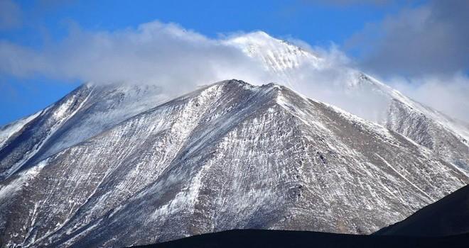 Köse Dağı beyaza büründü
