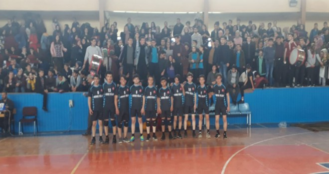 Beyşehir'in voleyboldaki şampiyon okulu belli oldu