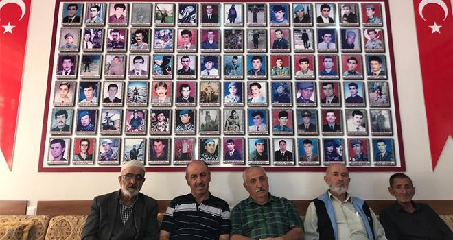 Şehit ailelerinden Barış Pınarı Harekatına destek