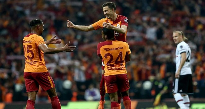 Derbinin galibi Galatasaray