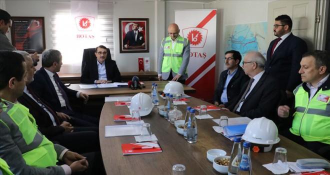 TürkAkım Projesi'ni yıl sonuna kadar bitireceğiz