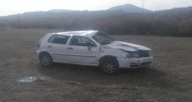 Otomobilşarampoledevrildi 1 ölü