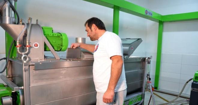 Karadağ'da zeytinyağı üretimine TİKA desteği