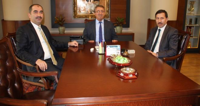 Başkan Hançerli, Hasan Kılca'yı ağırladı