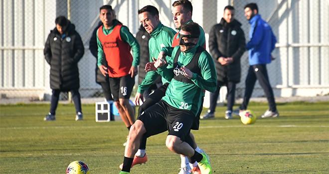 Konyaspor, Gaziantep Futbol Kulübü maçı hazırlıklarına başladı