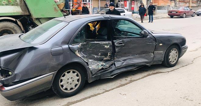 Akşehir'de kaza 3 yaralı