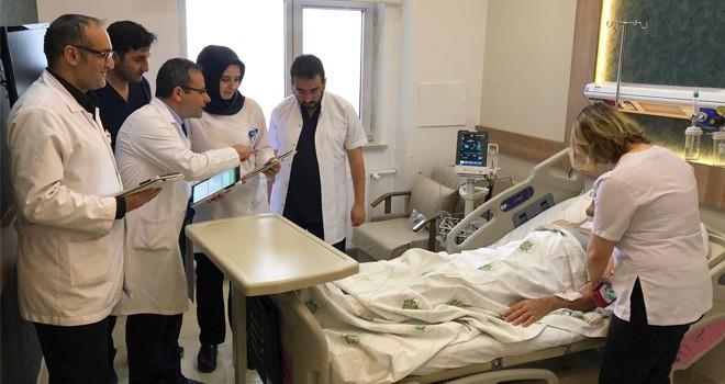 7 hastane dijital oldu