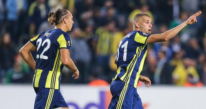 Fenerbahçe'nin yüzü Avrupa Ligi'nde güldü