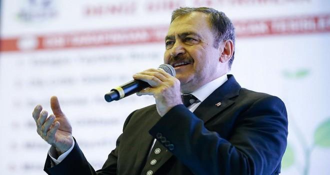 Orman ve Su İşleri Bakanı Eroğlu: Türkiye'yi 3,5 misli büyüttük