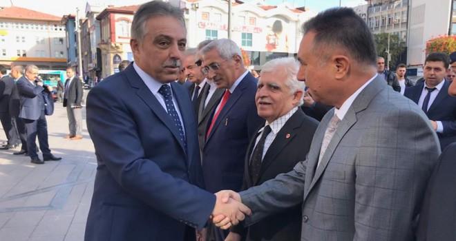 Konya Valisi Toprak, görevine başladı