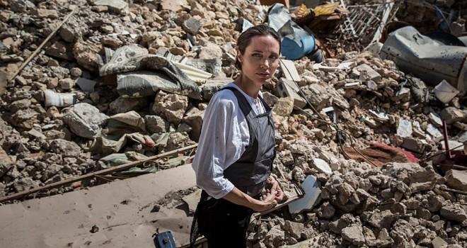 Angelina Jolie Irak'ta