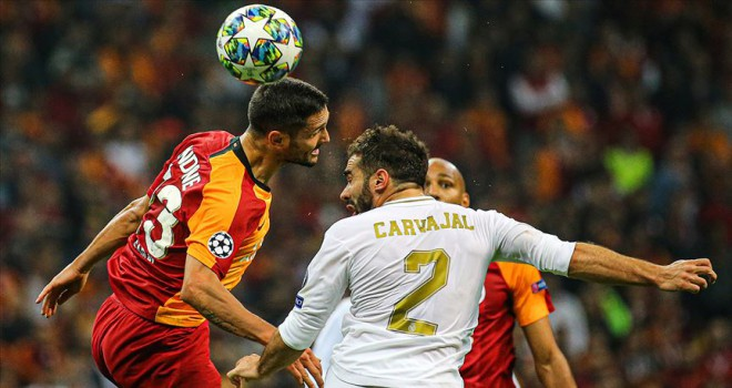 Galatasaray Real Madrid deplasmanında