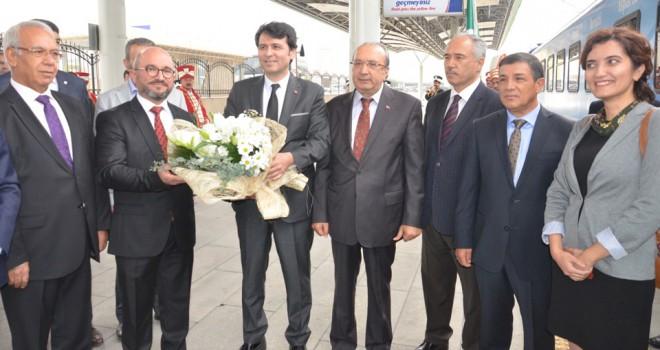 Sosyal kooperatif treni Konya'da