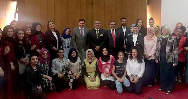 Türkmen öğrencilerden  Büyükşehir'e ziyaret