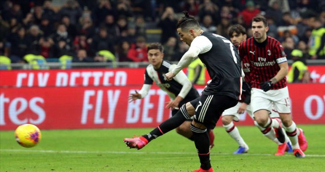 İtalya Kupası'nda Juventus ve Milan berabere kaldı