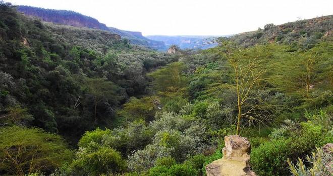 Kenya'nın doğa harikası 'Cehennem Kapısı'