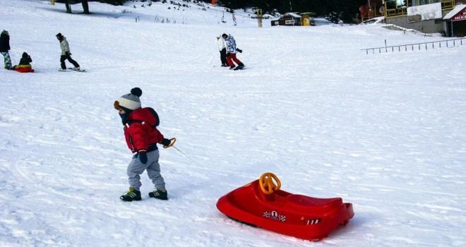 Uludağ'da kar kalınlığı yarım metreyi geçti