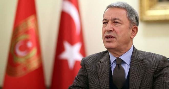 Milli Savunma Bakanı Akar: Bizim için bütün mesele rejimin ateşkese uyması