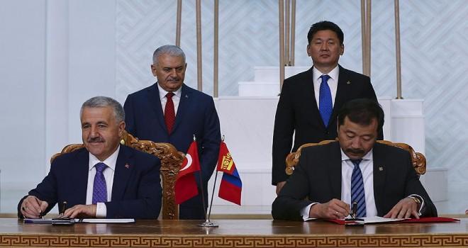 Türkiye ile Moğolistan arasında 7 anlaşma imzalandı