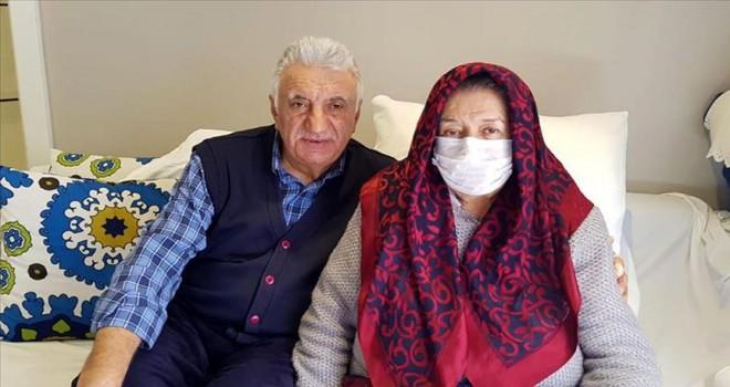 50 yıllık eşini böbreğiyle hayata bağladı