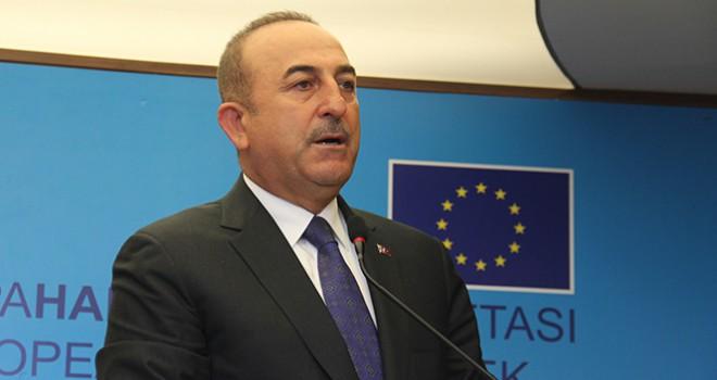 Bakan Çavuşoğlu'ndan ABD'ye Güvenli Bölge eleştirisi
