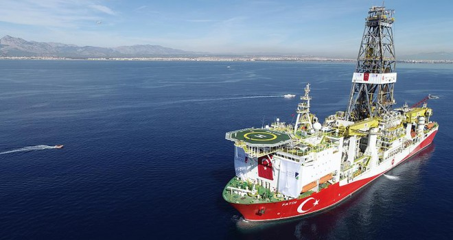 Milli sondaj gemisi Fatih Akdeniz'de ilk sondajına başlıyor