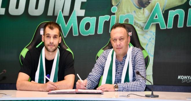 Konyaspor, Marin Anicic'i transfer etti