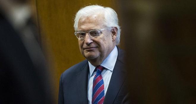 ABD'nin Tel Aviv Büyükelçisi Friedman: İsrail, ABD'siz barış görüşmelerine katılmaz