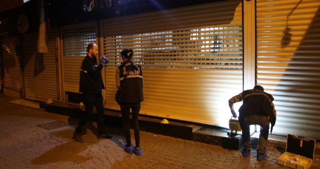İzmir'de kuyumcu soygunu