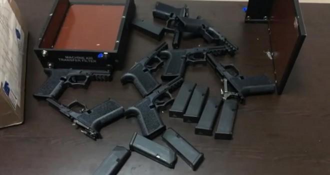 48 suikast silahı ele geçirildi