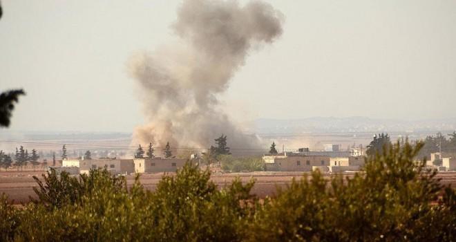 Terör örgütü PYD/PKK Azez'de sivillere saldırdı