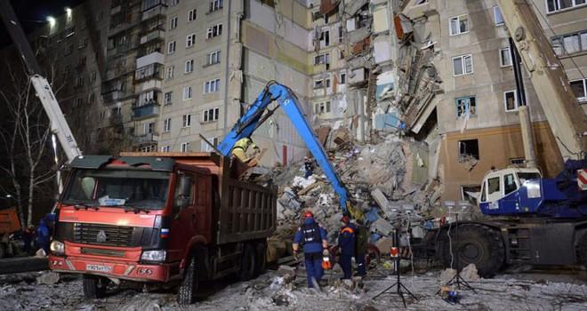 Gaz patlamasında ölü sayısı 13'e çıktı