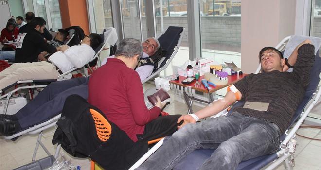 Karapınar'da, kan  bağışı kampanyası