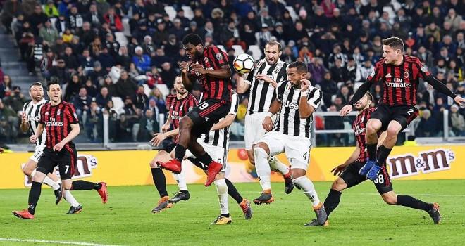 Lider Juventus Milan'ı farklı yendi