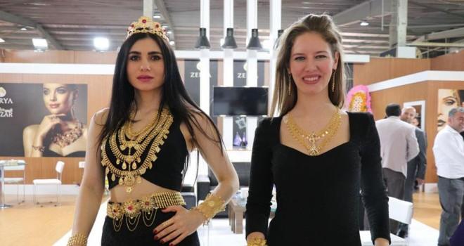 'Mezopotamya Mücevher Fuarı' kapılarını açtı