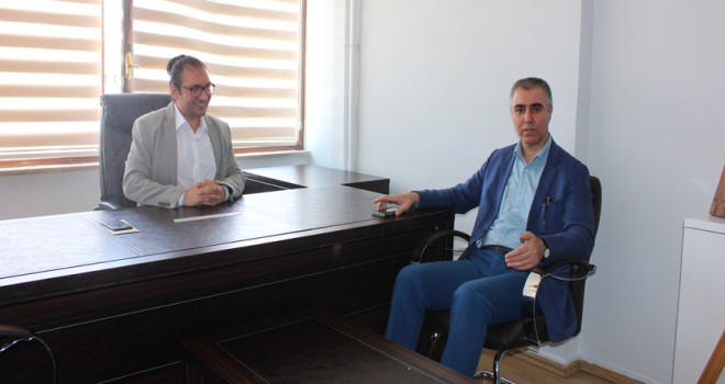 Şimşek'ten gazetemize ziyaret