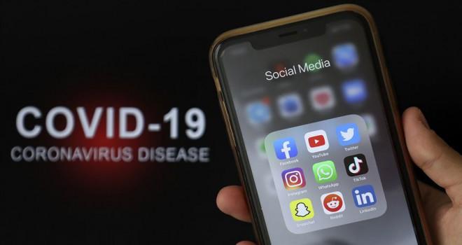 Küresel salgın sosyal medya kullanımını arttırdı