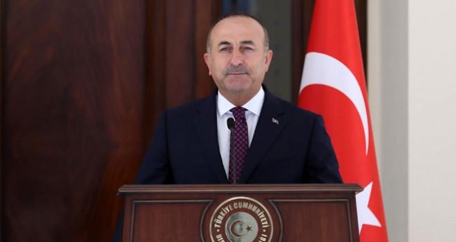 Bakan Çavuşoğlu, 'Tüm dünyaya çağrıda bulunoyuruz'