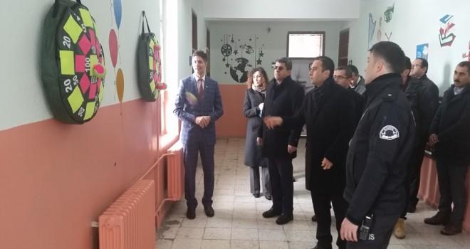 Kulu'da Atatürk İlkokuluna Akıl-Zeka Oyunları Koridoru