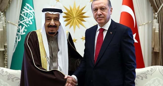 Cumhurbaşkanı Erdoğan ve Kral Selman telefonda görüştü
