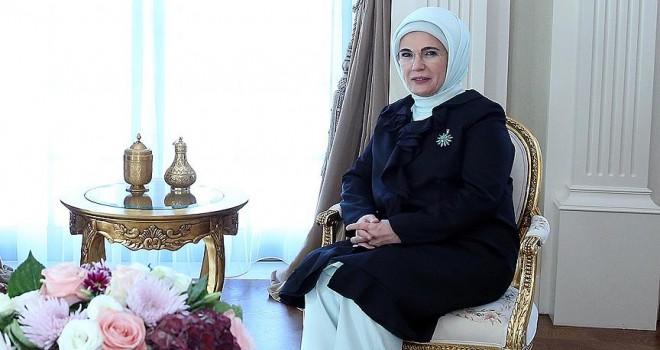 Emine Erdoğan, Arnavutluk Başbakanının eşi Linda Rama ile görüştü