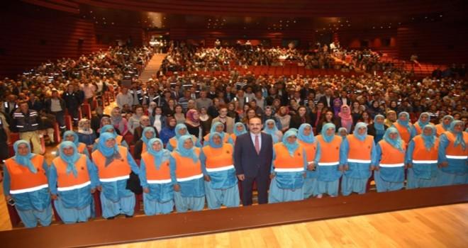 Altay, Selçuklu Belediyesi personeli ile vedalaştı
