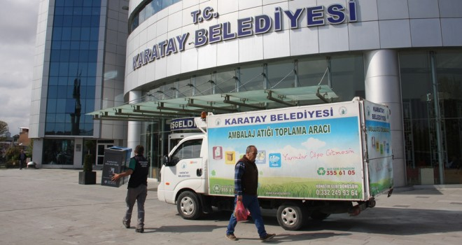 'Sıfır Atık Projesi'neKaratay'dan destek
